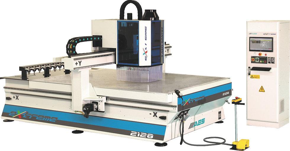 AES EXTREME 1325 CNC NESTING MACHINE