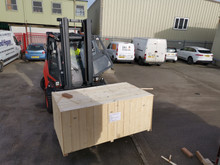 Latest delivery of our ever popular Genisis sliding table panel saws.
