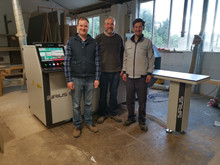 AES Sirius CNC drilling machine delivered and commissioned in Gloucester.