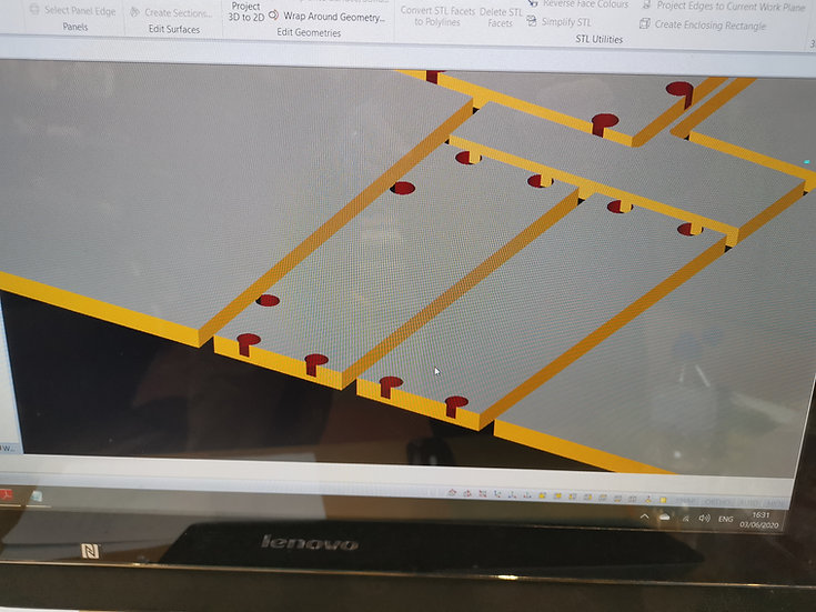 Polyboard Parametric Cabinet Design