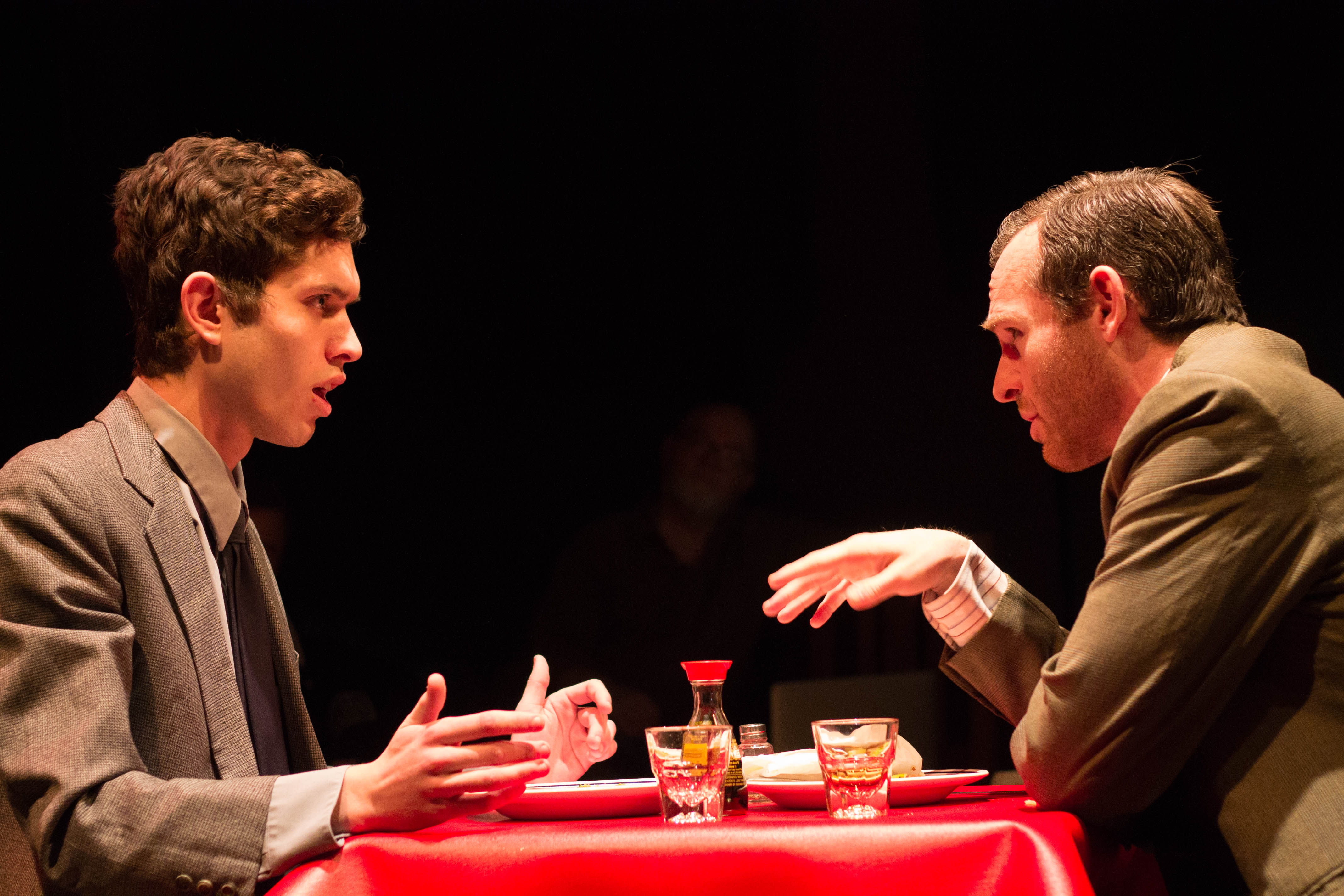 Act 1, Scene 2. Aaronow and Moss.