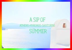 A sip of summer