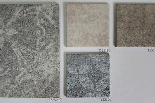KCC 데코타일 센스타일 트렌디 콘크리트 TS5521C, TS5518C, TS5519C, TS5520C