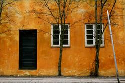 Street-orange-perspective-Copenhagen-Denmark-Deni-Gostl-Photography-DGArt-Creations