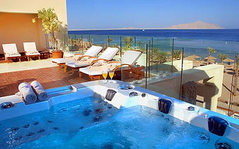 SPA Outdoor Jaguzzi with sea view - Cora