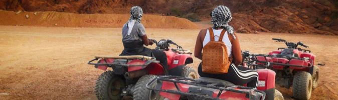 Quad Runner Tour nel deserto