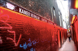 Street-perspective-Red-District-Amsterdam-Holland-Deni-Gostl-Photography-DGArt-Creations