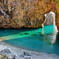 Spiaggia dell'Arco Magno Calabria