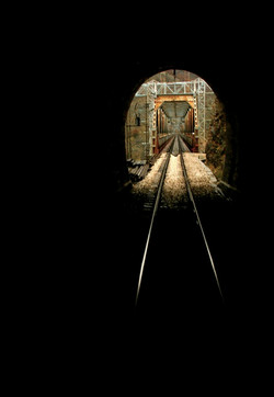 On-the-train-in-the-tunnel-Montenegro-Deni-Gostl-Photography-DGArt-Creations