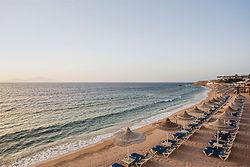 Spiaggia 1. Sultan Gardens Resort - Shar
