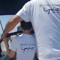Padre e Figlio in barca a vela