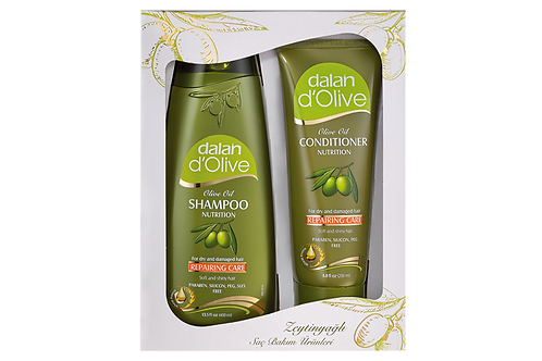 d'Olive Shampoo Carton Gift Set