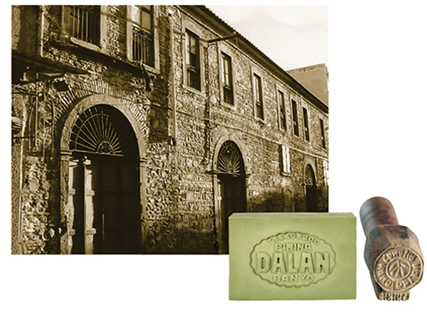 Factory where olive oil soap was produced.