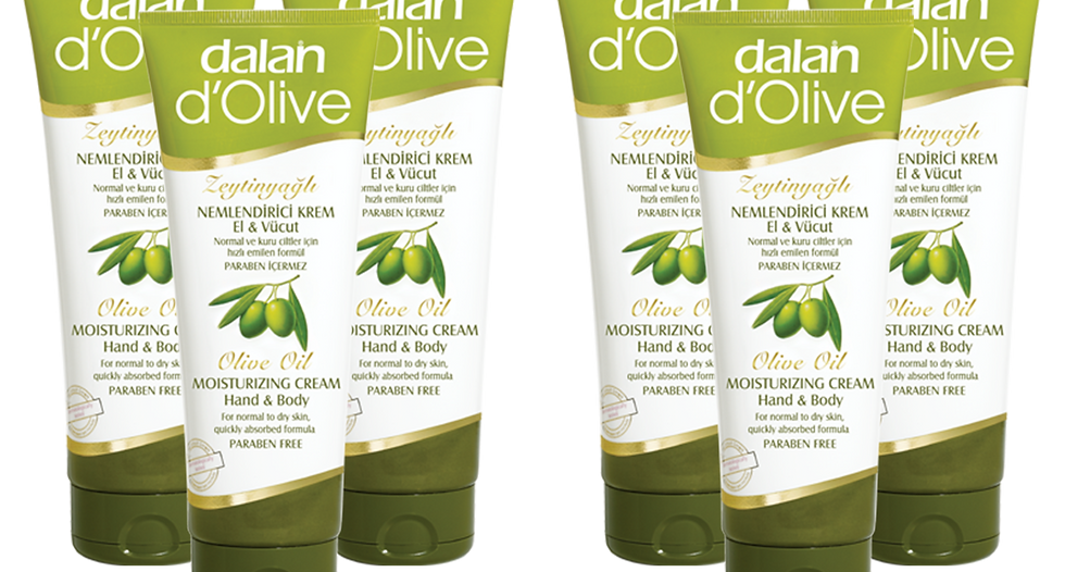 d'Olive Moisturizing Hand & Body Lotions 75ml 6pack