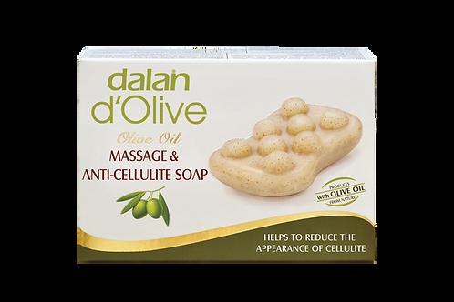 d'Olive Olive Oil Massage & Anti-Cellulite Soap