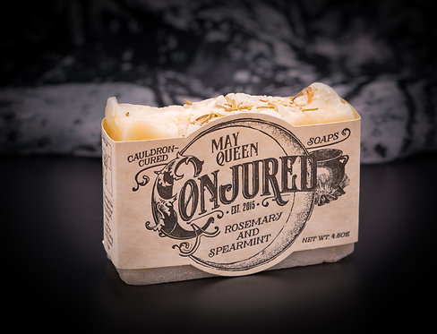 May Queen: Rosemary & Spearmint Soap