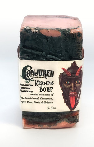 Krampus Soap