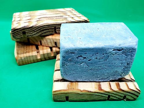 Draining Wood Soap Dish