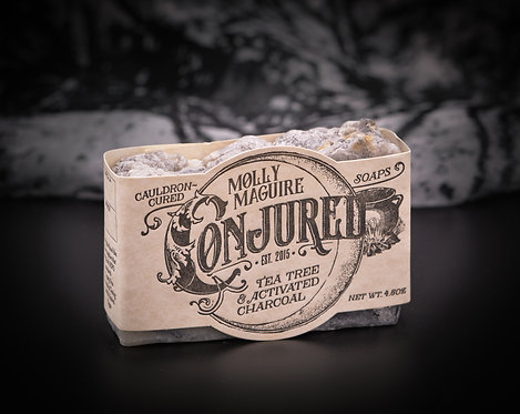 Molly McGuire Tea Tree & Activated Charcoal Soap