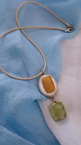 Modern Look Minimalist with Semi-Precious Stones