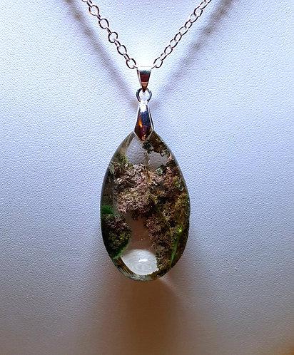 """""""Natural Bridge"""" - one of a kind quartz crystal pendant"""