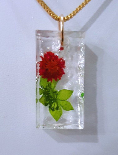 Picked for You -- dried flower in resin