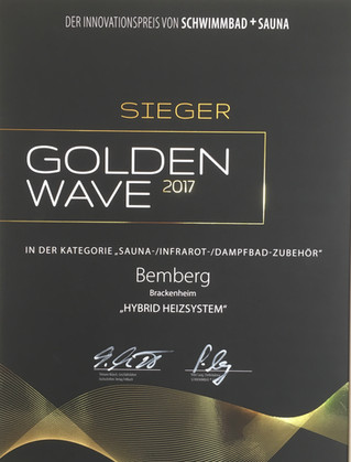 Bemberg gewinnt Innovationspreis Golden Wave 2017