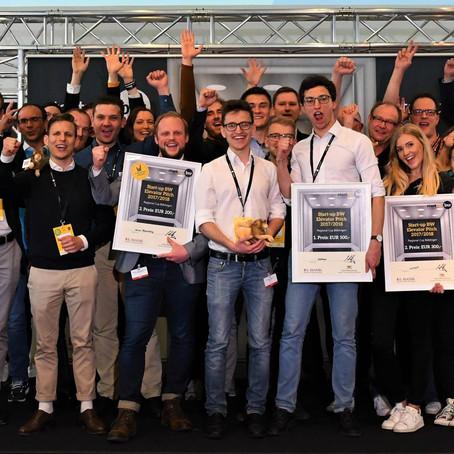 airRED macht den 2. Platz beim Regional Cup Böblingen, Stuttgart (Startup BW Elevator Pitch)