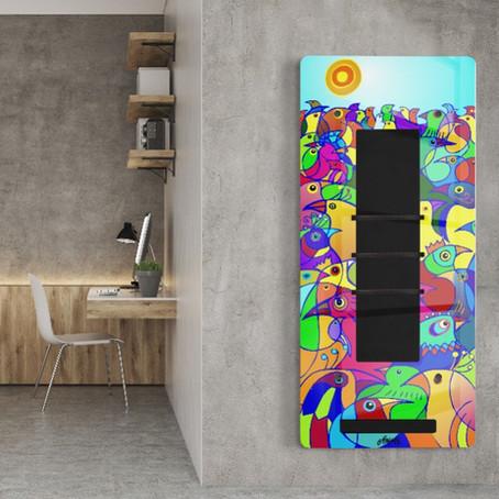 Kunst und soziales Engagement mit dem airRED art