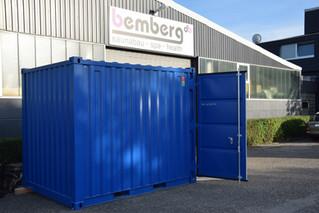 Außergewöhnliches Projekt: die Container-Sauna