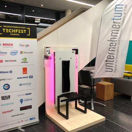 Das airRED an der UnternehmerTUM in München