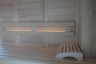 bemberg Ambientelicht in NORDI Sauna