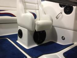 Custom underseat ported Sub Box