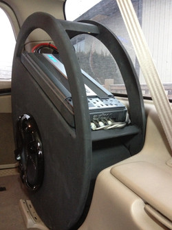 Stealth Amp and Sub Box