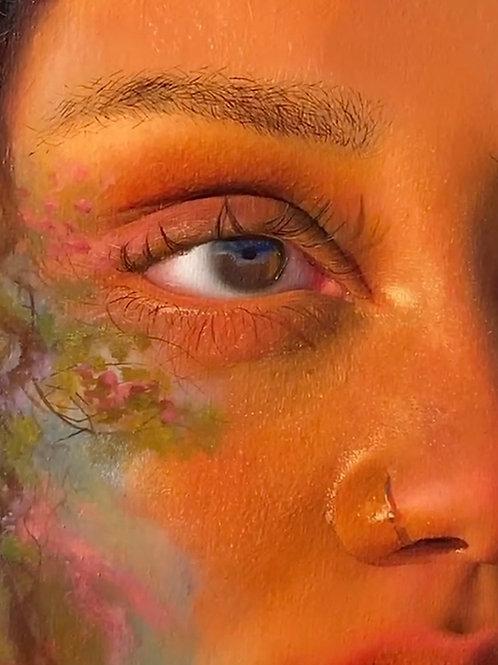 8x10 Eye Detail Print