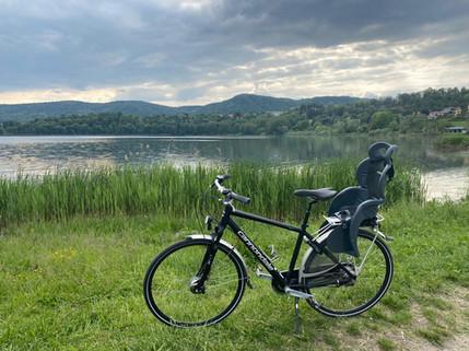 Bici Touring con Seggiolino