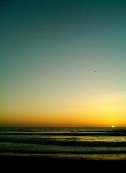 imperial beach sunset (somber) 2