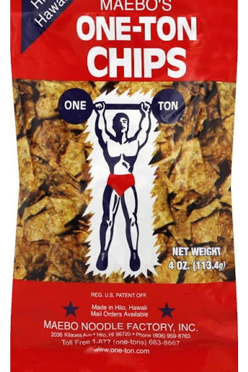 Maebo's One-Ton Chips
