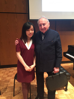 with Seymour Bernstein