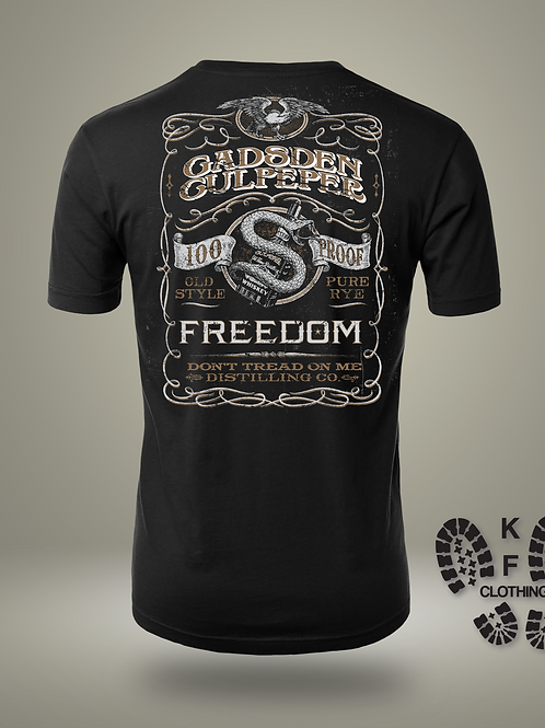 Gadsden Whiskey T-shirt