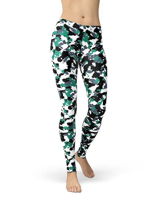 Avery Green White Camo