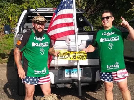 Team Killfoot takes on Tough Ruck Boston Marathon!
