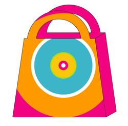Purse-shaped Gift Bag