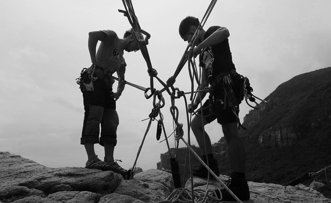 @百合搖滾 傳攀工作室 訓練實境照片