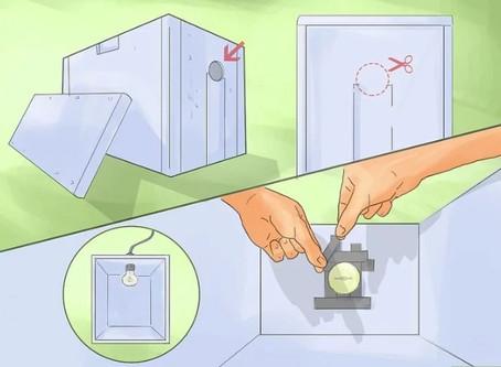 How do you build a Homemade incubator?