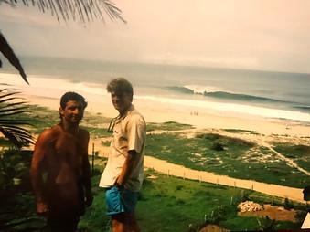 ZEN AND PAT HURLEY, PUERTO ESCONDIDO