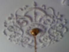 дворцовый стиль классические потолочные розетки