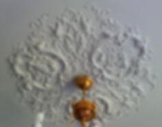гипсовая лепнина для потолка потолочная розетка