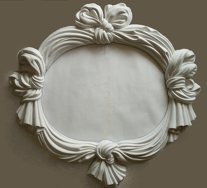 лепные рамы для зеркал на заказ