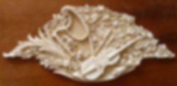 гипсовая лепнина на заказнастенный орнамент из гипса